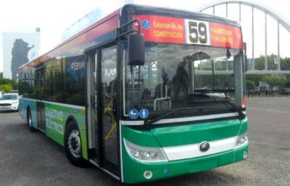 [ARGENTINA] Buses eléctricos de la Línea 59 MOCBA