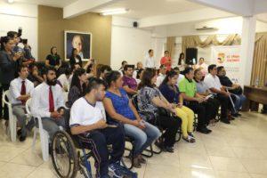 """En Alto Paraná DINATRAN impulsa campaña de Teletón """"Movamos los límites"""""""